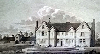 Campton Manor by Thomas Fisher 1812 [X258/88/84a]